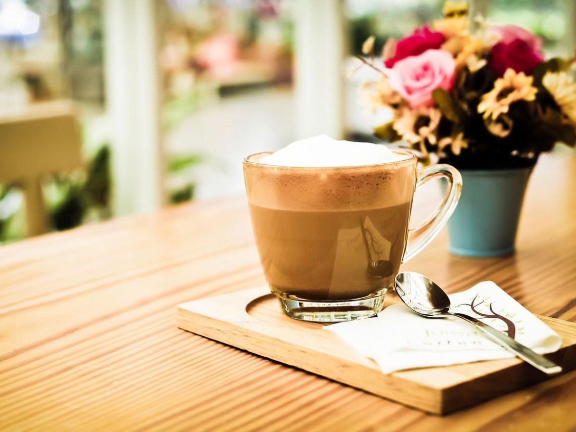 coffee-on-wood-table