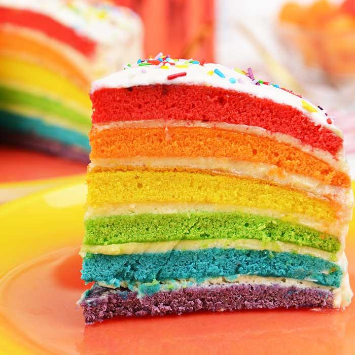 Rainbow cake-wiz wordpress theme-bakery demo