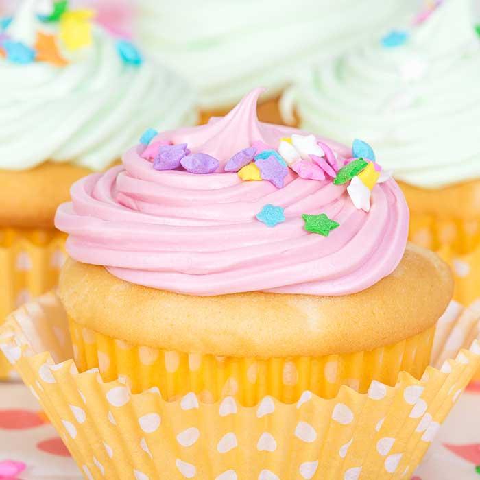 Stars cupcake-wiz wordpress theme-bakery demo