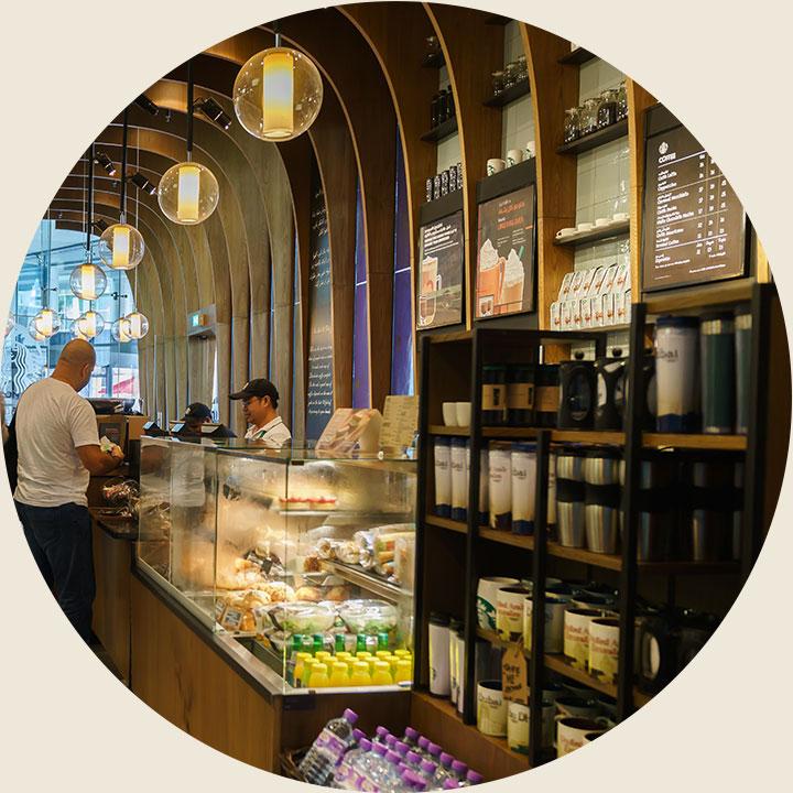 Inside cafe-wiz wordpress theme-cafe demo