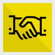Shake hands icon-wiz wordpress theme
