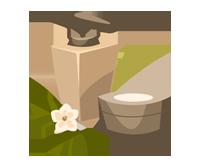 Natural shower gel-wiz wordpress theme