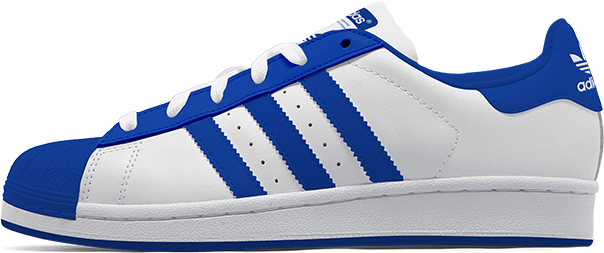 Superstar Blue Shoe