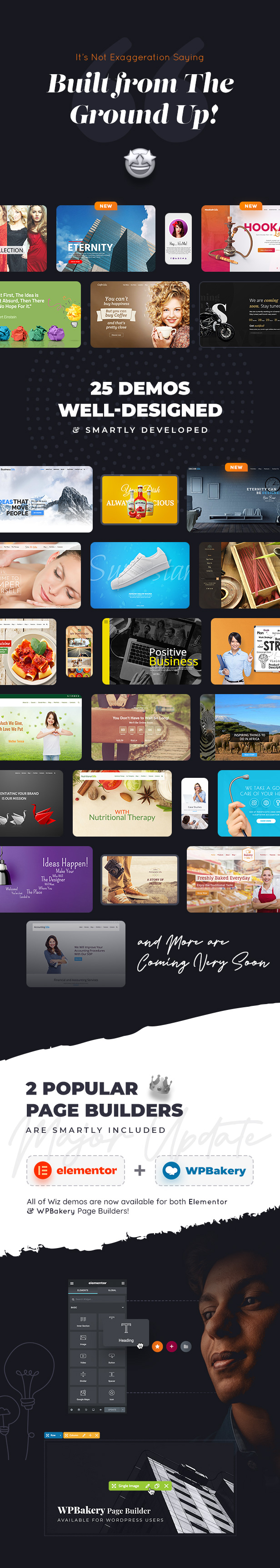 Wiz - Elementor MultiPurpose WordPress Theme - 2