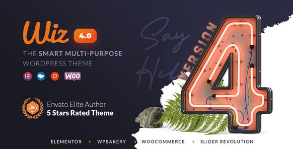 Wiz 4 WordPress Theme Announcement