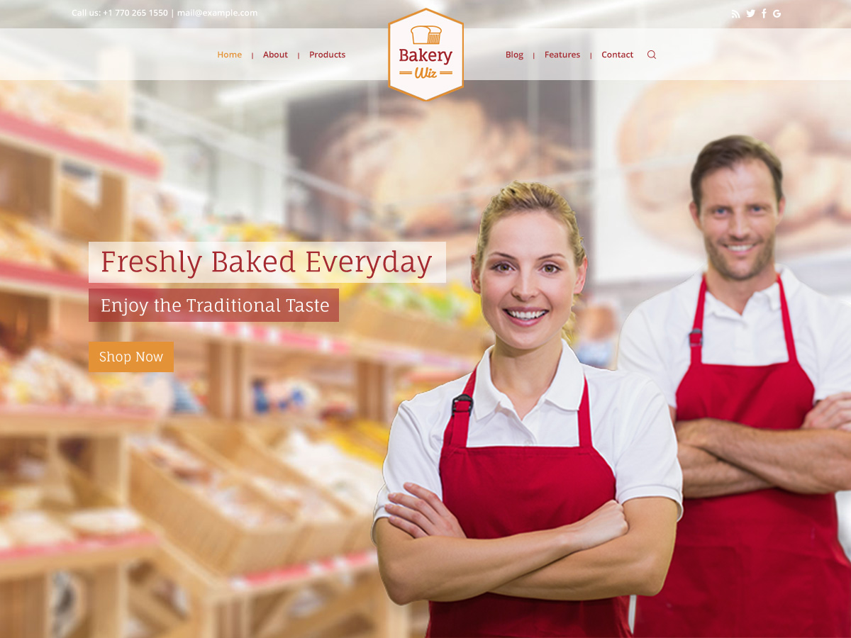 Bakery Website Layout for Elementor and WPBakery Page Builder
