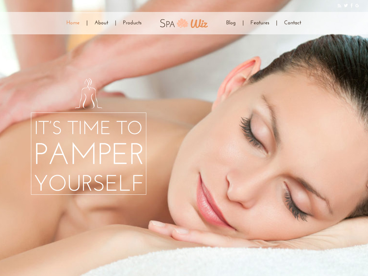 Spa Layout for Elementor Page Builder and WPBakery Page Builder