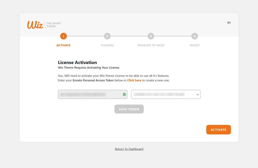 Wiz 4.0 Migration Wizard License Activation