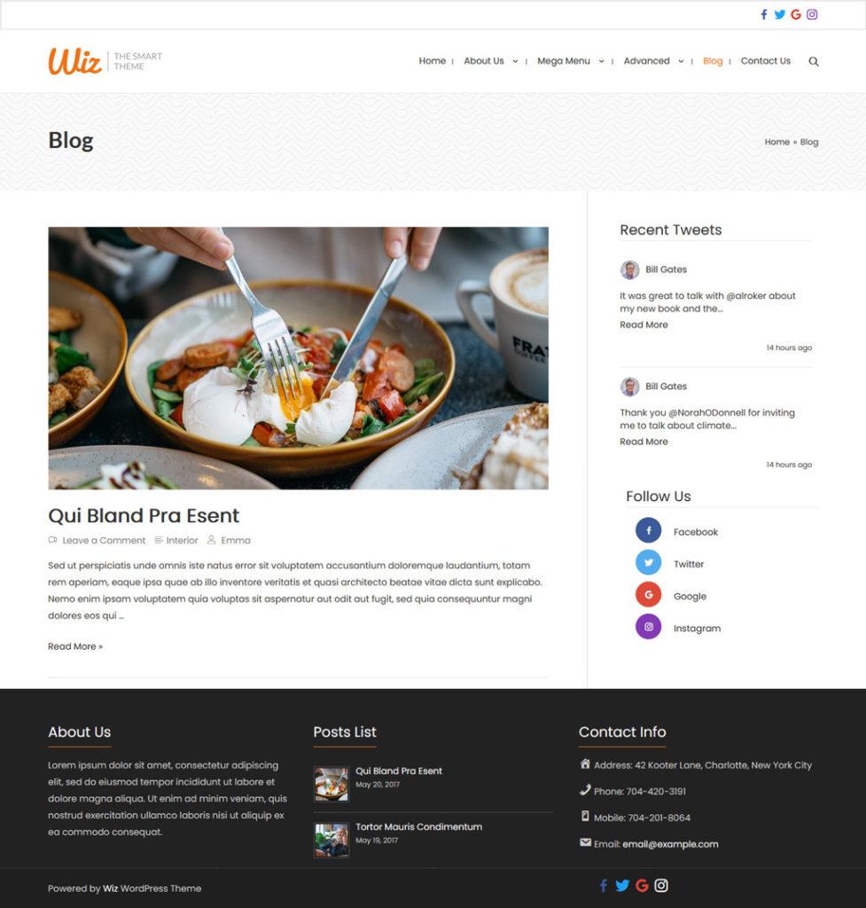 Wiz Social Icons Widget [Top bar, Sidebar and Footer Bar]