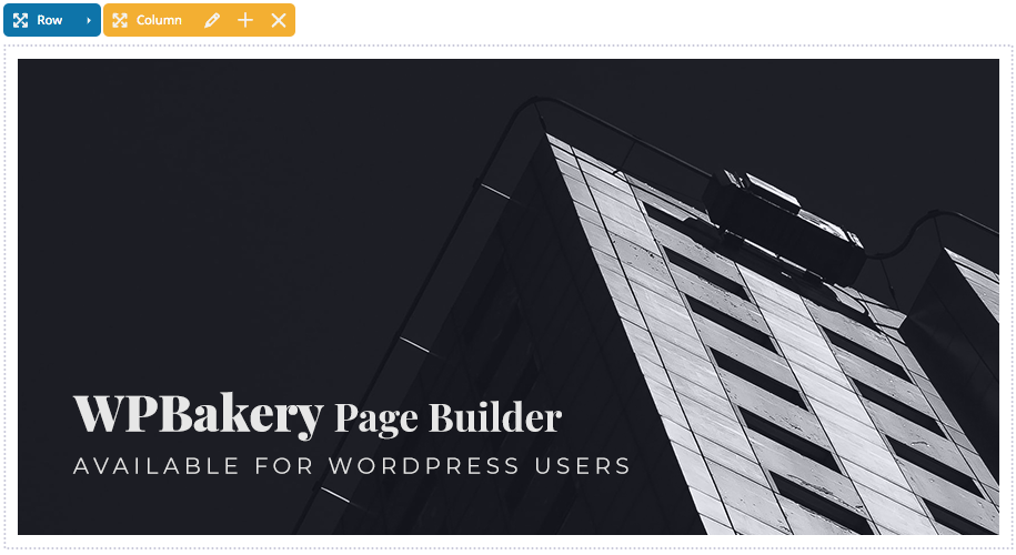 WPBakery WordPress Page Builder - Wiz The Smart WordPress Theme