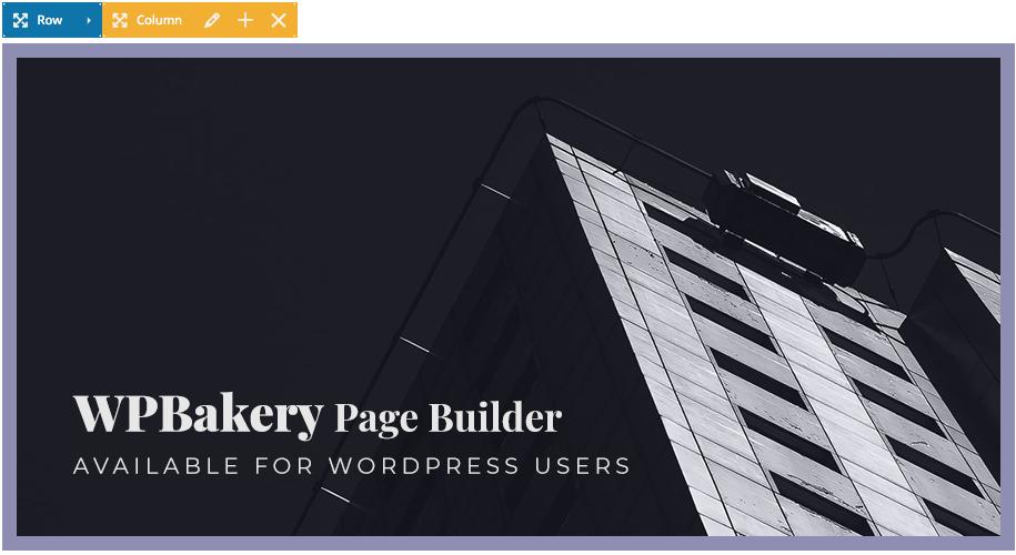 WPBakery WordPress Page Builder - Wiz The Smart WordPress Theme